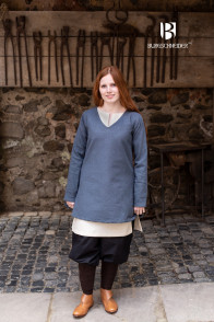 Short Tunic Frekja - Grey