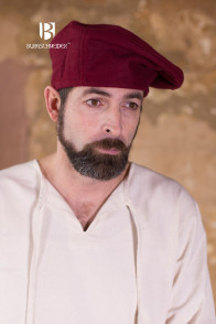 Wool Beret Harald - Red