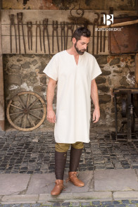 Short-Sleeve Undertunic Snorri - Natural
