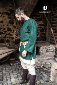 Wool Tunic Lodin - Green