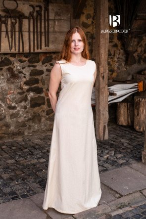 Natural White Sleeveless Underdress Aveline by Burgschneider