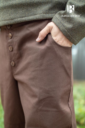 Pants Kergon - brown