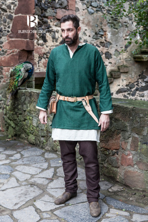 Beautiful green Short Tunic Erik by Burgschneider
