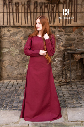 Underdress Freya - Burgundy Red