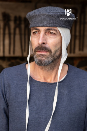 Wool Cap grey Hugo by Burgschneider