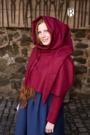 Gugel Curt Wool Red