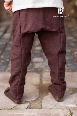 Children's Thorsberg Pants Ragnarsson - Brown