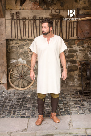 Short-sleeved Undertunic Snorri by Burgschneider for Summer