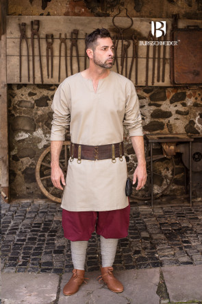 Hemp colored Undertunic Leif by Burgschneider